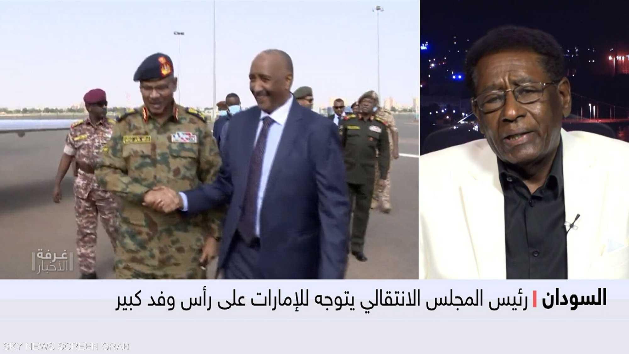 وفد سوداني بالإمارات لحل معضلة الخرطوم وقائمة الإرهاب