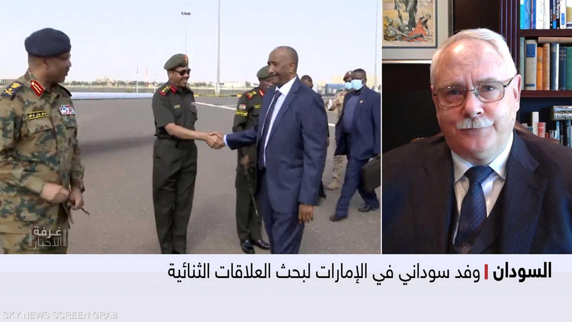 وفد سوداني في الإمارات لبحث العلاقات الثنائية
