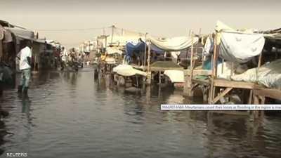 """فيضانات في نواكشوط بعد أمطار """"استثنائية"""""""