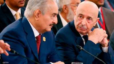 حفتر وصالح يبحثان تطورات الملف الليبي في القاهرة