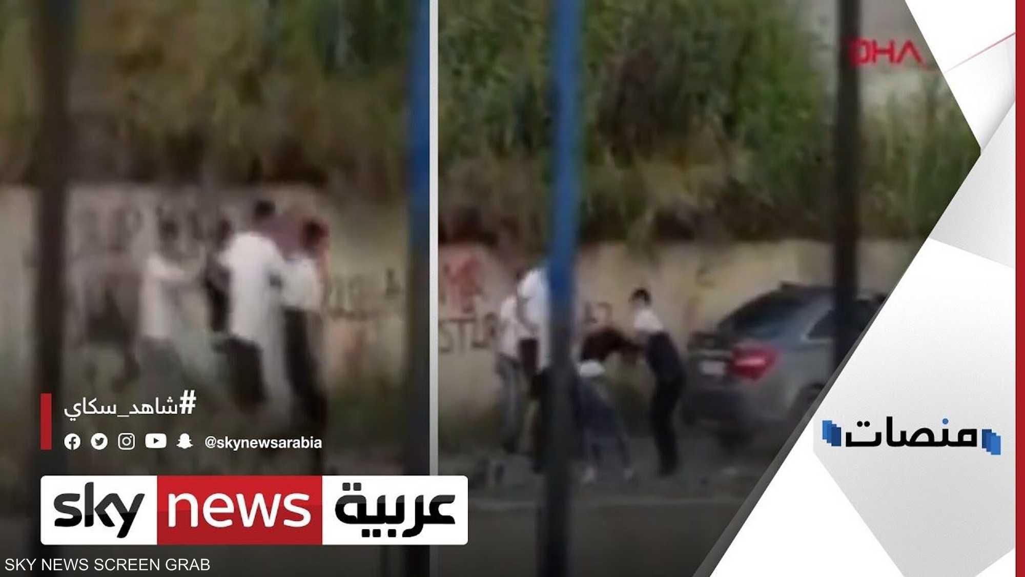 فيديو يوثق اعتداء جديدا على لاجئ سوري في تركيا