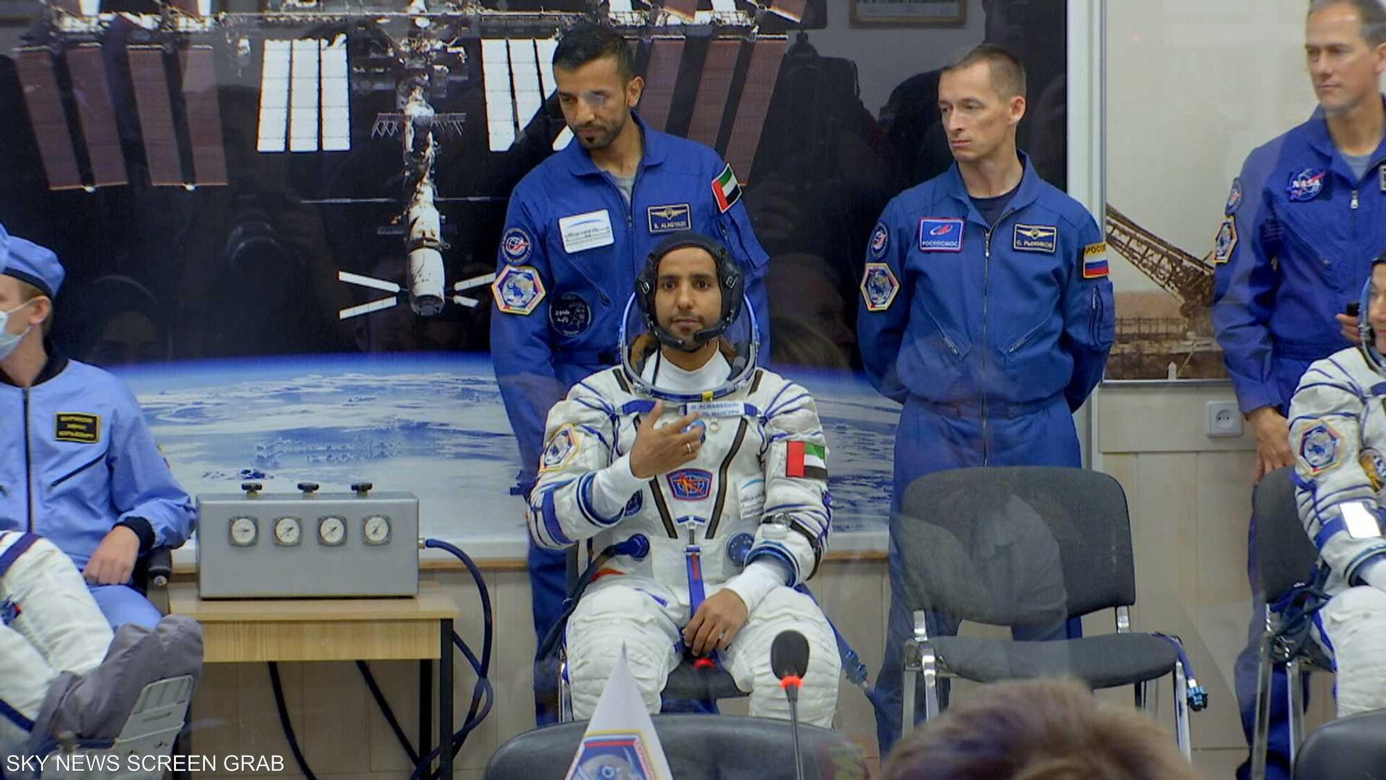 تأهيل رائدي فضاء إماراتيين في مجال تشغيل المحطة الدولية