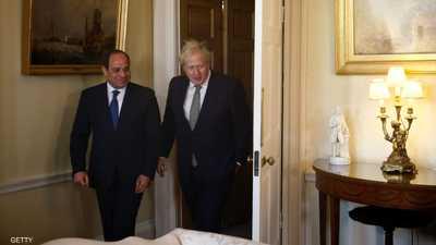 بريطانيا تدعم جهود مصر لحل أزمة ليبيا