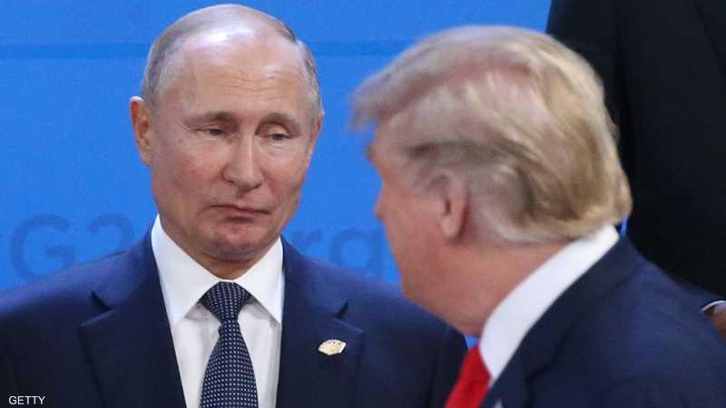 """بوتن يوجه رسالة ترامب """"المصاب"""""""