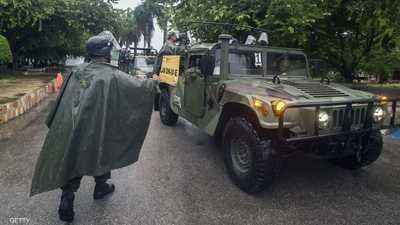المكسيك.. الجيش يستعد لمعركة بمواجهة إعصارشديد الخطورة