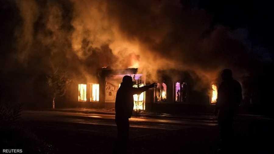 تعرضت مدينة ستيباناكرت، عاصمة الإقليم، إلى قصف طوال ليل الثلاثاء الأربعاء.