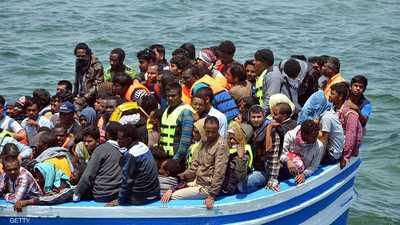 يحمل مصريين وسوريين.. غرق قارب مهاجرين قبالة تونس