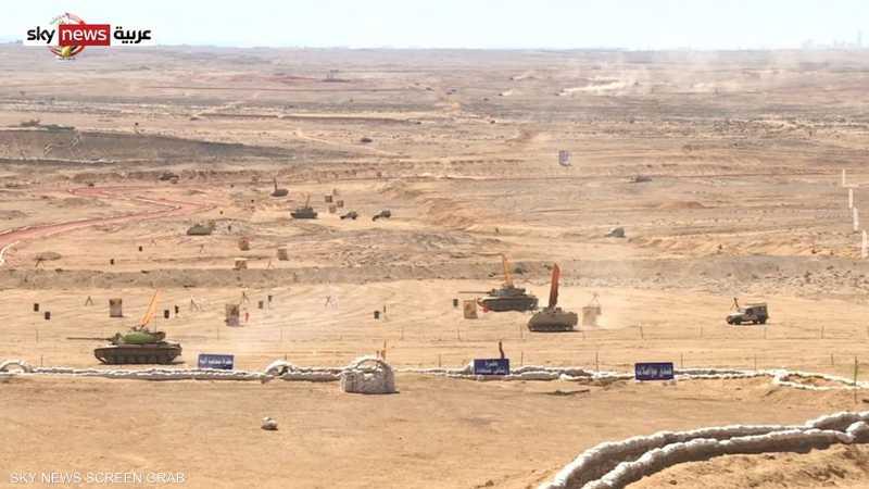 الجيش المصري ينفذ مناورة ردع 2020