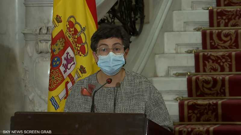 وزيرة الخارجية الإسبانية،