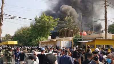 العراق.. فتح تحقيق في حادثة مقر الحزب الكردستاني