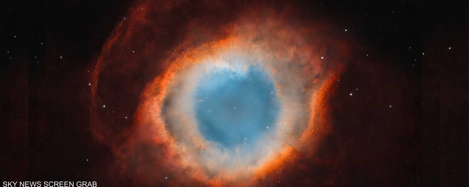 سديم هيليكس كان في يوم من الأيام نجما مشابها جدا لشمسنا.