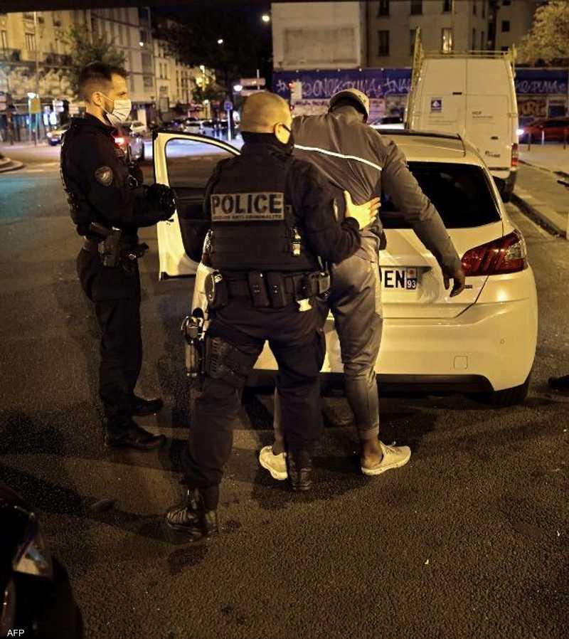 شرطة فرنسا تقوم بعمليات أمنية