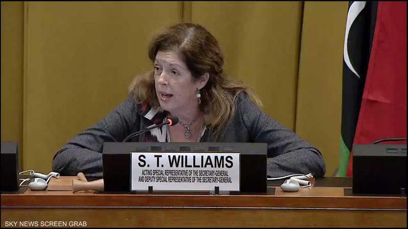مبعوثة الأمم المتحدة في ليبيا ستيفاني وليامز