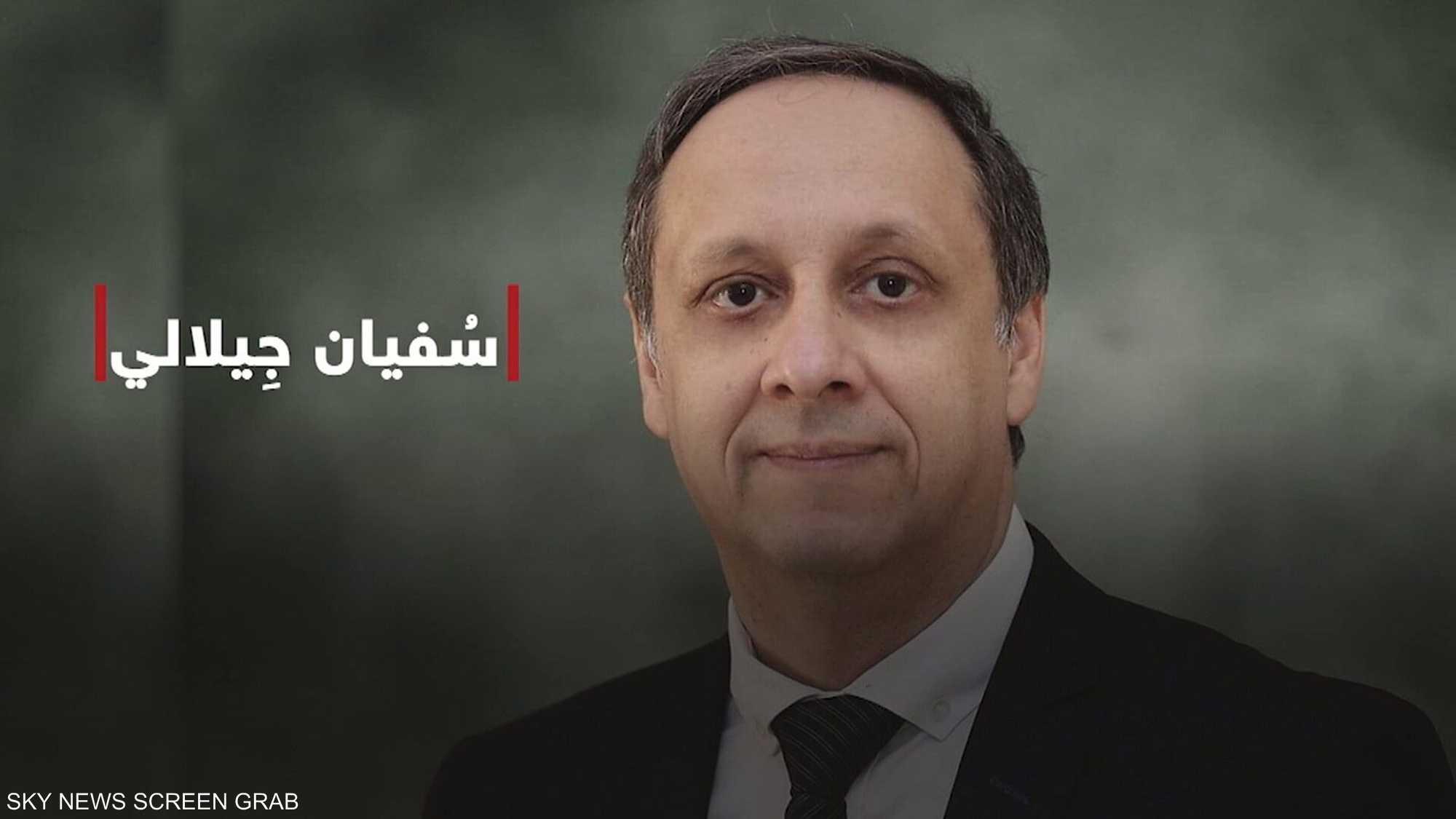 السياسي الجزائري سفيان جيلالي ضيف مع جيزال