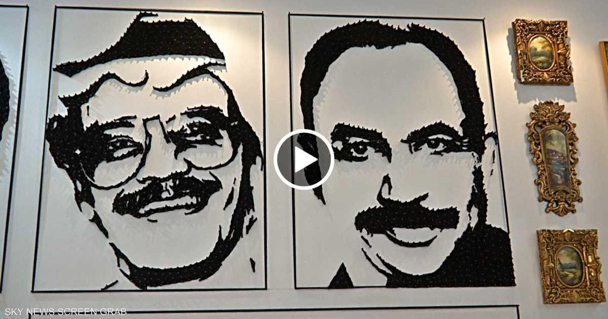 سعودي يحوّل حجرة إلى مساحة إبداعية للفن السوريالي