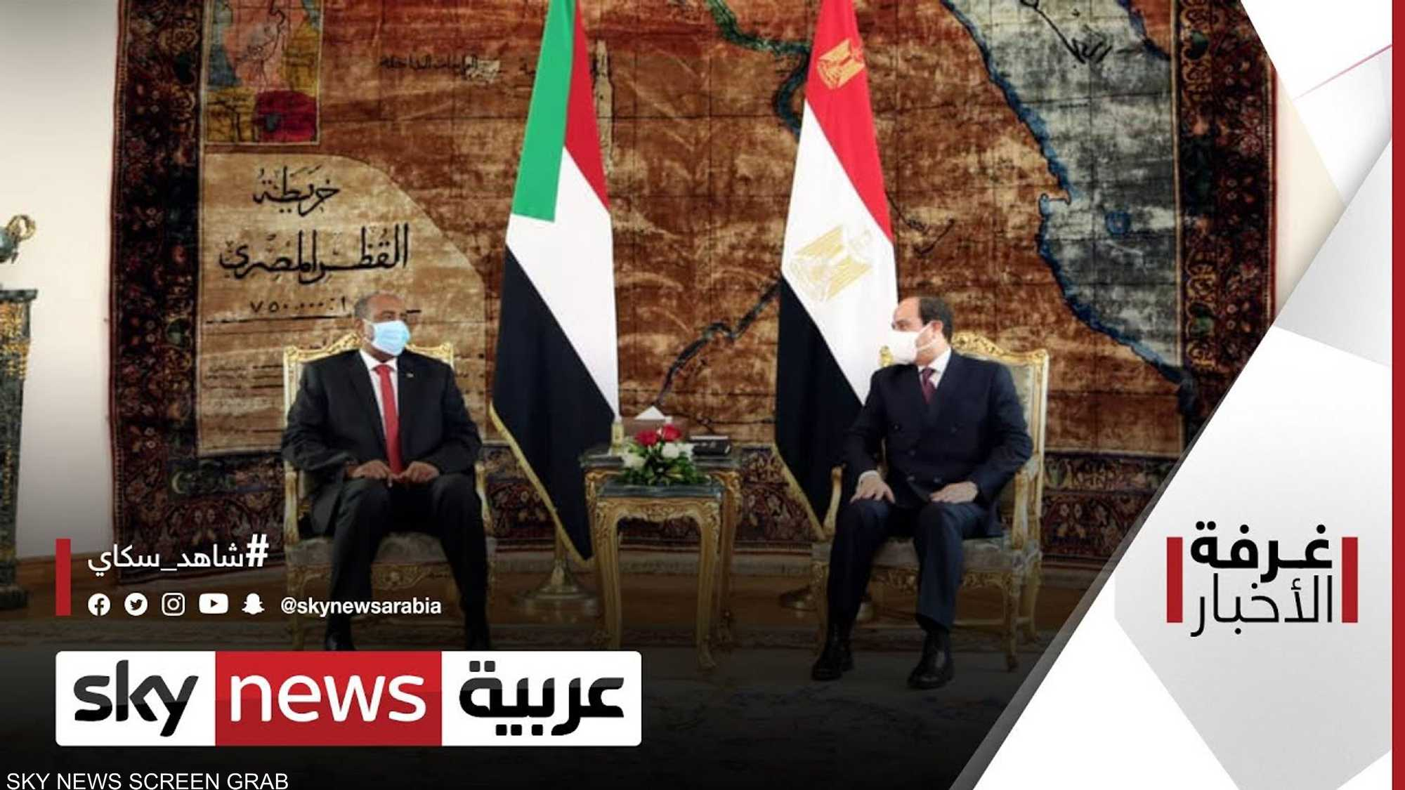 البرهان في القاهرة.. وملف سد النهضة على رأس جدول البحث