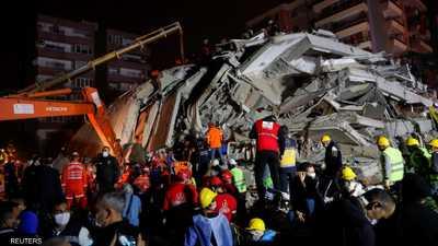 ارتفاع عدد قتلى الزلزال في تركيا