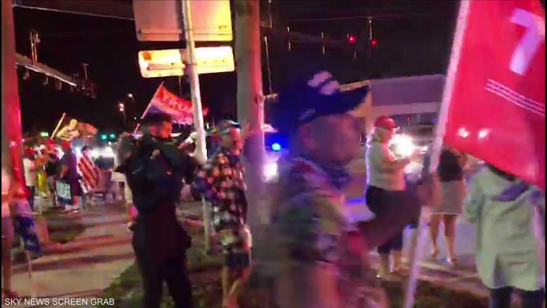إطلاق نار على مظاهرة جمهورية في فلوريدا