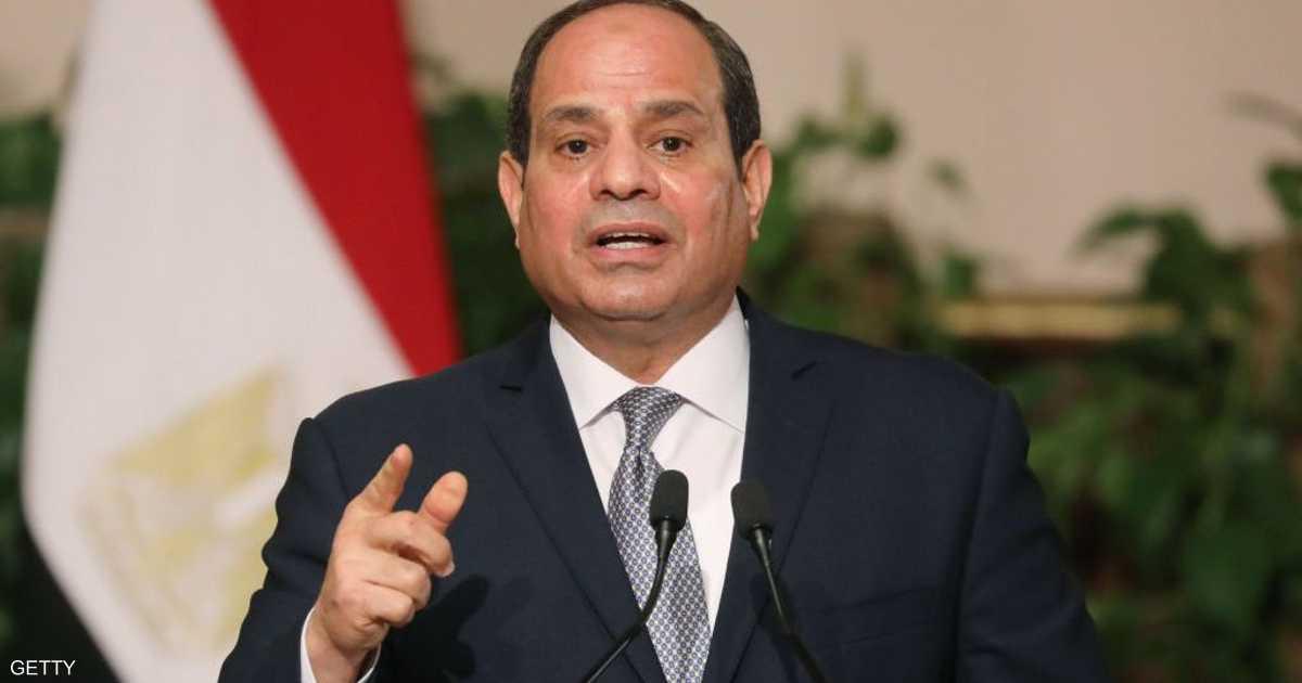 السيسي يشيد بأداء الاقتصاد المصري خلال أزمة كورونا