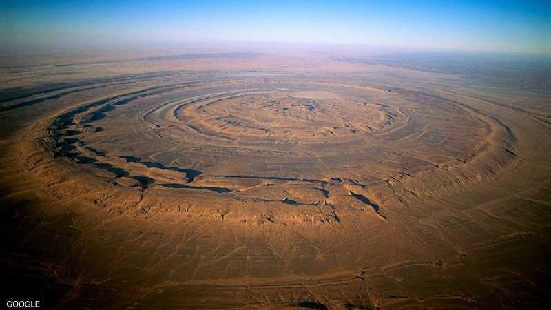 عين الصحراء من أبرز المعالم الجيولوجية في موريتانيا