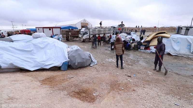 عائلات تنظيم داعش تستعد لمغادرة مخيم الهول