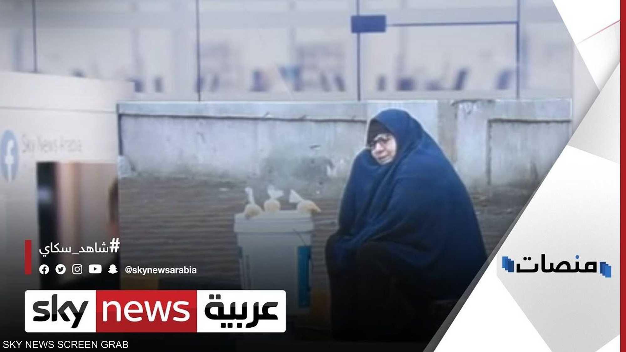 سيدة المطر تسيطر على السوشيال ميديا المصرية