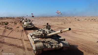 فيديو.. مناورة عسكرية للجيش الليبي بالذخيرة الحية