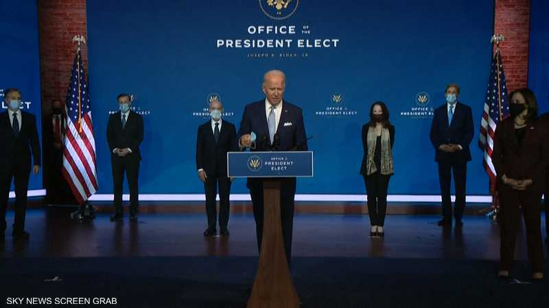 بايدن: فريقي سيعيد الولايات المتحدة لقيادة العالم