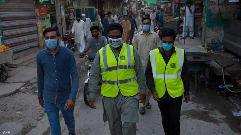 باكستان سجلت أرقاما عاليا من الإصابات مؤخرا.