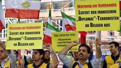 بلجيكا تحاكم دبلوماسيا إيرانيا للاشتباه بتورطه بمحاولة تفجير