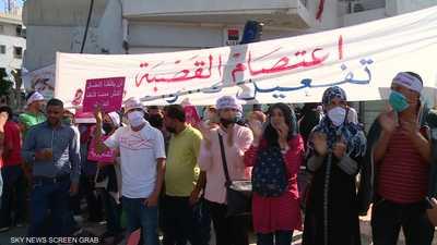 تونس.. توسع رقعة الاحتجاجات المطالبة بالتنمية والتشغيل