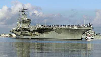 """حاملة الطائرات """"نيميتز"""" تلحق بقاذفات """"بي 52"""" في الشرق الأوسط"""