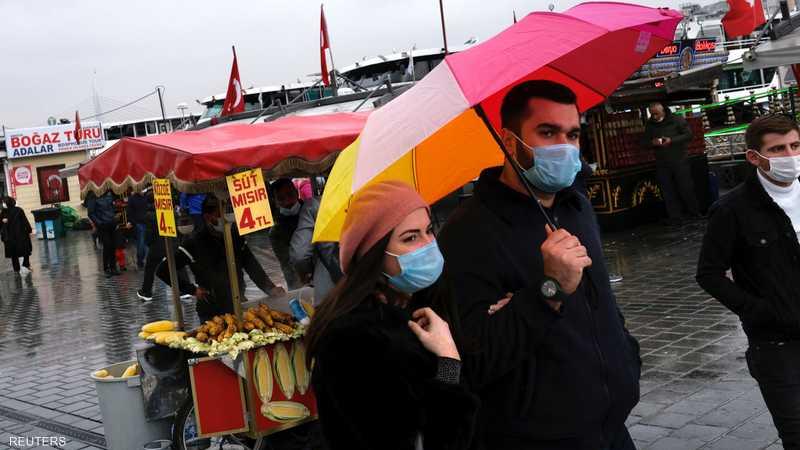 معدل الإصابات في تركيا قفز من 7 آلاف إلى 28 ألفا يوميا