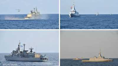 مصر واليونان.. تدريب بحري عابر في بحر إيجه
