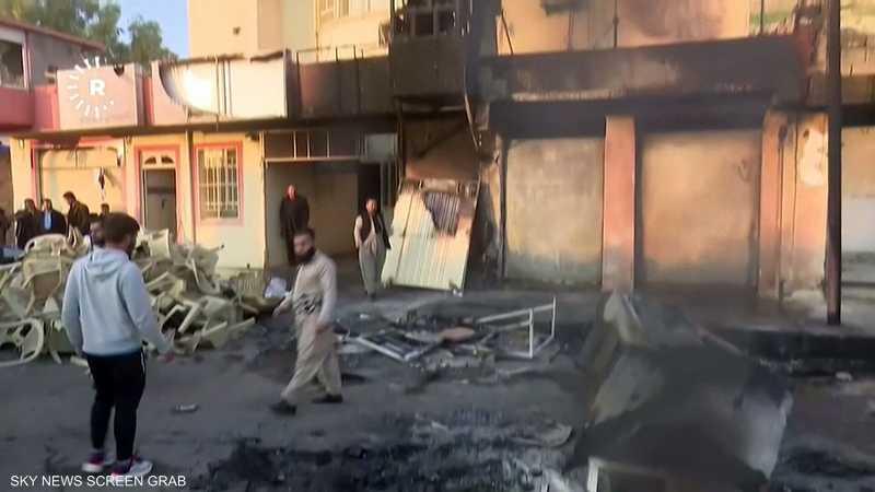 مقتل متظاهريْن وجرح آخرين خلال احتجاجات بكردستان العراق