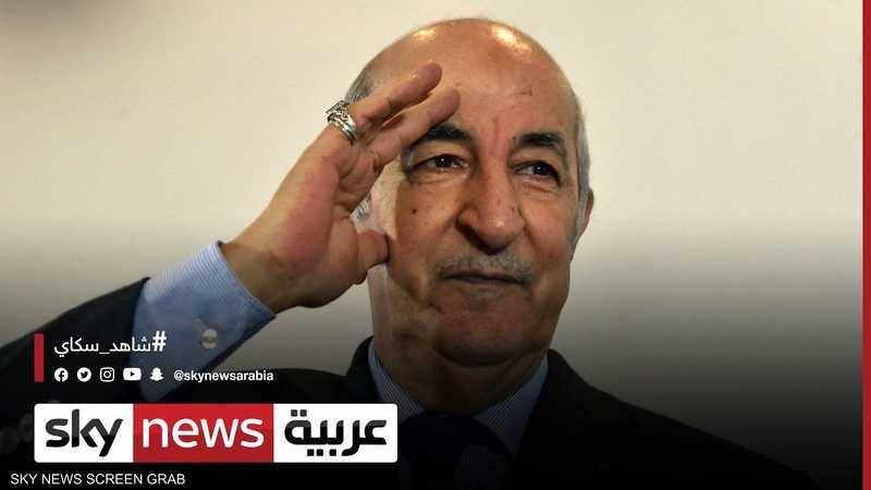 الشارع الجزائري يعرب عن ارتياحه بعد ظهور الرئيس تبون