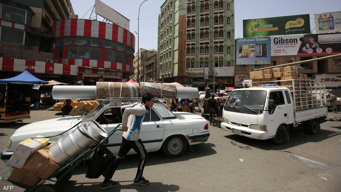 جانب من العاصمة العراقية بغداد