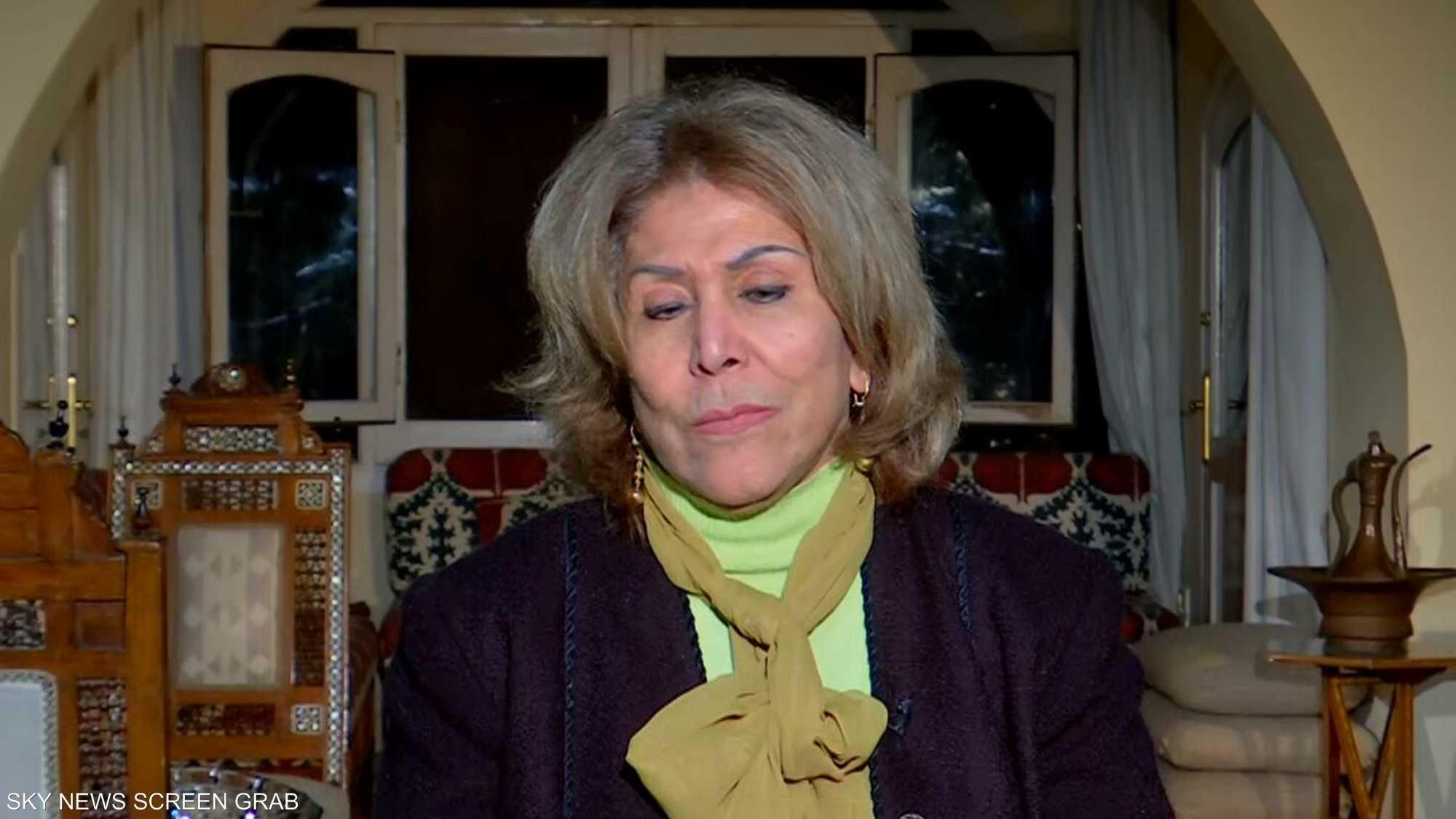 الصحفية المصرية فريدة الشوباشي