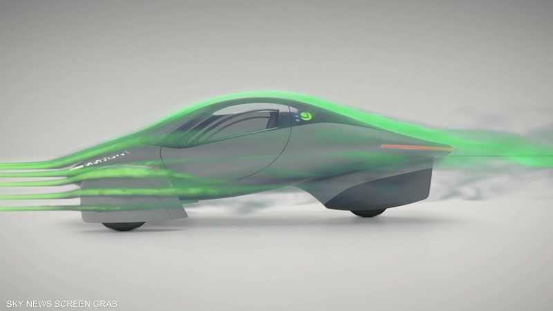 شركة أبتيرا تقدم مركبة كهربائية لا تحتاج للشحن