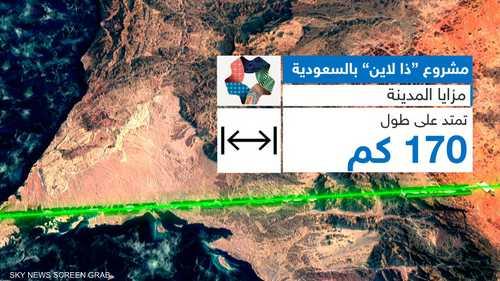 """تدشين مدينة """"ذا لاين"""" في نيوم بالسعودية"""