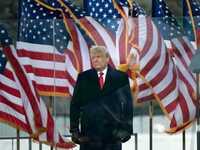 الرئيس الأميركي المنتهية صلاحيته دونالد ترامب