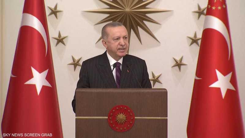 أردوغان يدعو لتحويل شرقي المتوسط إلى منطقة تعاون