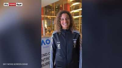 لاعبة التنس المصرية ميار شريف
