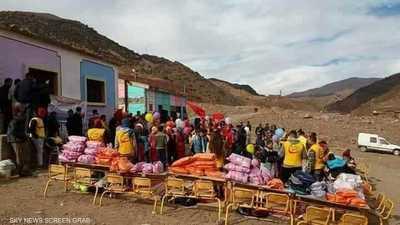 نداء استغاثة من سكان الجبال بالمغرب المحاصرون بالثلوج