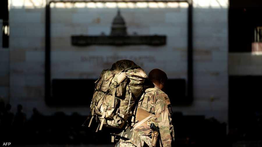 الحرس الوطني يعتبر خط الدفاع الأول للولايات المتحدة