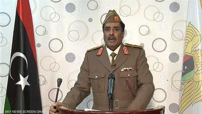 المسماري: ندعو لتعاضد الشعب الليبي وتوحيد الصفوف