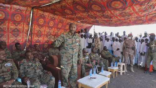 البرهان يؤكد قدرة القوات المسلحة على حماية أمن البلاد