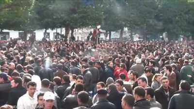 التونسيون يحيون الذكرى العاشرة لإطاحة بن علي