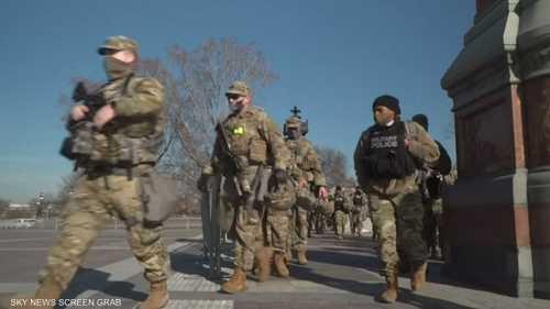 20 ألفا من قوات الحرس الوطني لتأمين واشنطن
