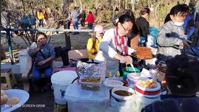 """""""سوق الأجانب"""".. ملتقى العمالة الآسيوية في السليمانية"""